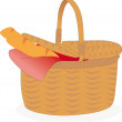 Basket — Vector de stock #14158678
