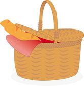 Basket — Stock Vector