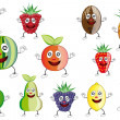 Stock Photo: Fruit cartoon