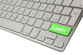 Learn keyboard — Stock Photo