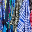 Foulard shop — Stock Photo