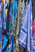 Foulard shop — Stock Photo