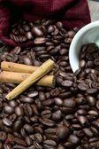 Black coffee — Stock Photo