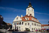 Council Square in Brasov city, Romania — Stock Photo