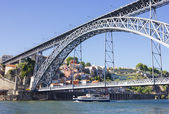 """D. Luis 1"" bridge, Porto , Portugal — Stock Photo"