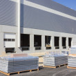 Stock Photo: Construction of warehouse