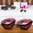 Bath and relaxing items - Stock Photo