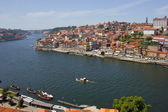 Douro river and Porto — Stock Photo