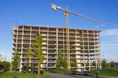 High rise construction — Stockfoto