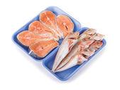 çiğ balık — Stok fotoğraf