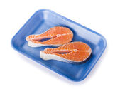 Salmon Steack — 图库照片