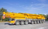 Crane truck — Stock Photo