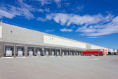 At the loading docks — Stock Photo