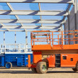 Stock Photo: Hydraulic mobile construction platform