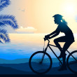 Cycling — Vector de stock #15347001