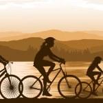ciclismo — Vetorial Stock