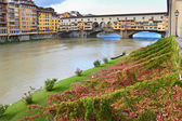 Flornce, Arno River — Stock Photo