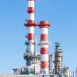 Stock Photo: Part of refinery complex