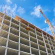 Stock Photo: Highrise Construction Site