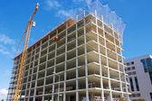高层建筑施工现场 — 图库照片