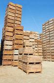 Wooden Crates — Zdjęcie stockowe