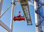 Big industrial crane — Stock Photo