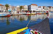 Vouga river, Averiro (Portugal) — Stock Photo