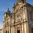 Stock Photo: Two portuguese churches in Porto