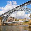 Bridge in Porto, Portugal - Stock Photo
