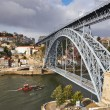 Porto, Dom Luis bridge  — Stock Photo