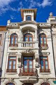 Typical building view, Aveiro, Portugal — Zdjęcie stockowe