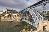 Porto, Dom Luis bridge — Stock Photo