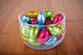 Easter Chocolate Candy — Stock Photo