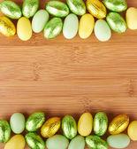 Velikonoční čokoládové — Stock fotografie