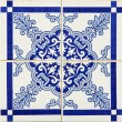 Traditional Portuguese azulejos — Stock Photo #22598305