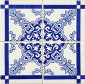 Traditional Portuguese azulejos — Stock Photo