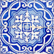 Old Traditional Portuguese azulejos - Stock Photo