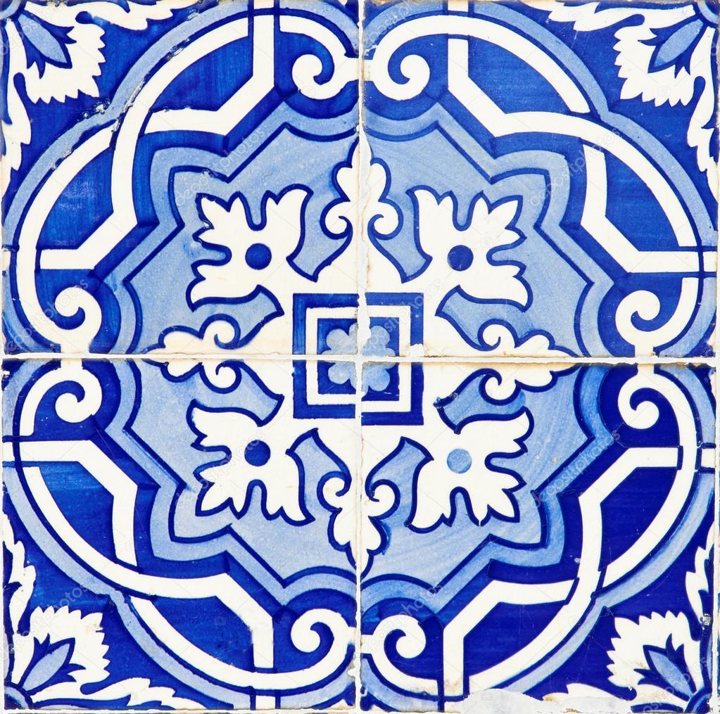 Velho tradicionais azulejos portugueses fotografias de for Fotos en azulejos