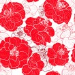 Seamless red pattern — Stock Vector