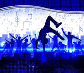 Disco party — Stock Vector