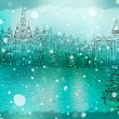 Christmas City — Vektorgrafik