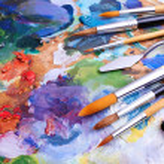 Artists brushes — Stock Photo