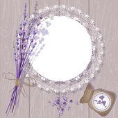 Lavender Background — Stock Vector