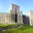 Stock Photo: Guimaraes Castle and surrounding park, Portugal