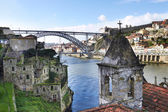 Old houses in Porto, Portugal  — Stock Photo