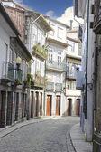 City street of Guimaraes in Portugal  — Stock Photo