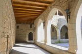 Widok wnętrza pałacu duques de Bragança, w Guimarães, por — Zdjęcie stockowe