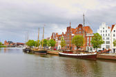 Lubeck in northern Germany — Stock Photo