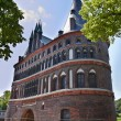 The Holstein Gate (Holstentor) in Lubeck, Germany — Stock Photo