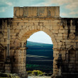 Archaeological city of Volubilis — Stock Photo
